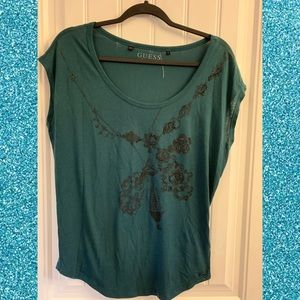 Guess T-shirt with sequins